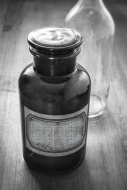 VIntage  Apothecary Bottle