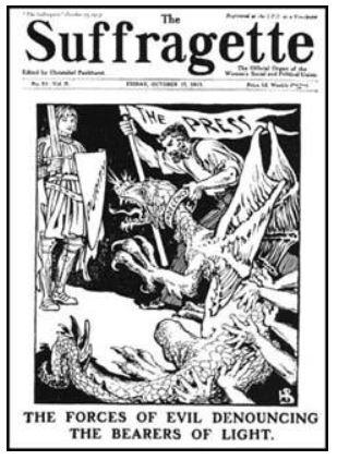 Sufragette Newspaper
