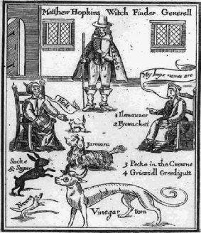 Matthew Hopkins - witch finder general